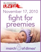 Join me in the Fight for Preemies!